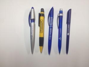 Цветные ручки с логотипом