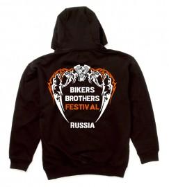 Толстовка с логотипом байкерского фестиваля