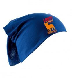 Бандана с логотипом синяя