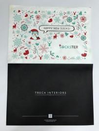 Бумажные фирменные конверты с логотипом