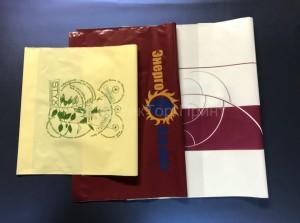 Произведённые нами пакеты с логотипом