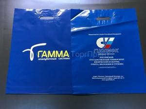 Заказанные у нас пакеты с печатью лого