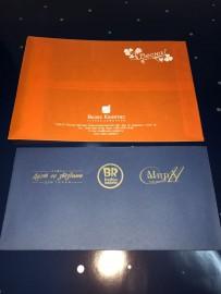Фирменная продукция с логотипом (конверты)