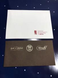 Фирменные конверты с логотипом (имиджевая продукция)