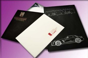Фирменные конверты с логотипом