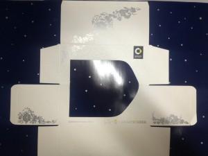 Фирменная продукция (коробка с логотипом компании)