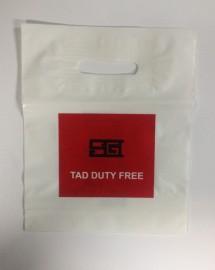 Фото сделанного в нашей компании пакета с логотипом