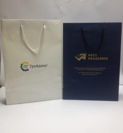 Бумажные пакеты ЛГ Трейдинг и Авто Академия