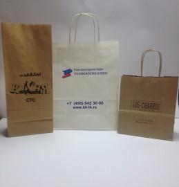 Крафт пакеты с логотипами СТС, Технологии кино, Los-Sigarros