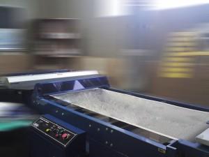 UV-сушка. Используется после печати на пакетах.