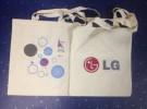 Печать логотипов на холщовых сумках в несколько цветов (1)