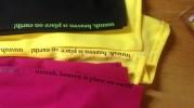 Печать шелкографией на платьях (май 2018)